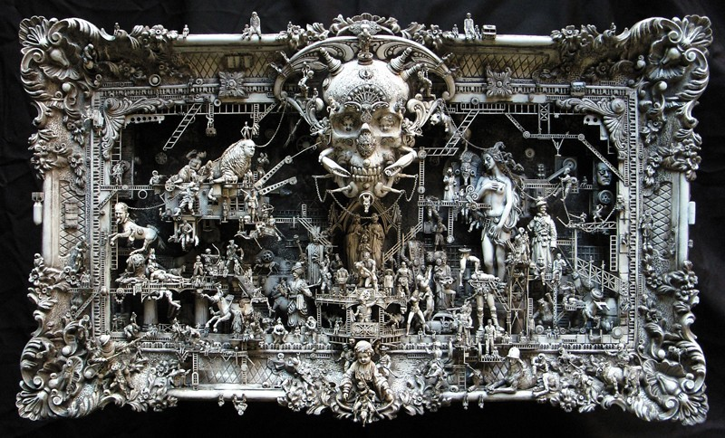 Le apocalittiche visioni di Kris Kuksi